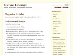 magazine articles page