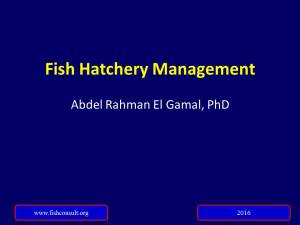Cover Fish Hatchery management (Updated 2016 version)