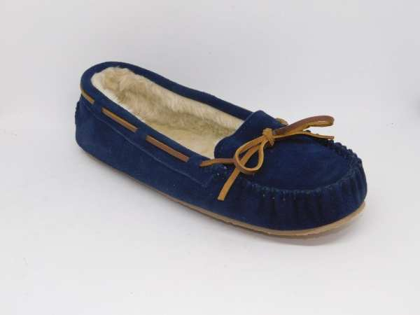 womens slippers cally navy 4014
