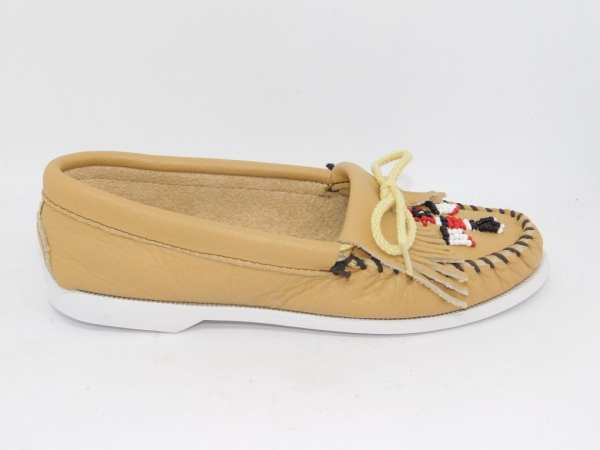 womens mocs thunderbird boat natural 176