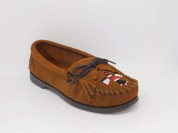 womens mocs thunderbird boat brown 173
