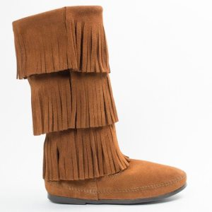 womens boots 3 layer calf brown 1632