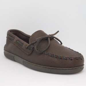 mens mocs moosehide classic chocolate 892