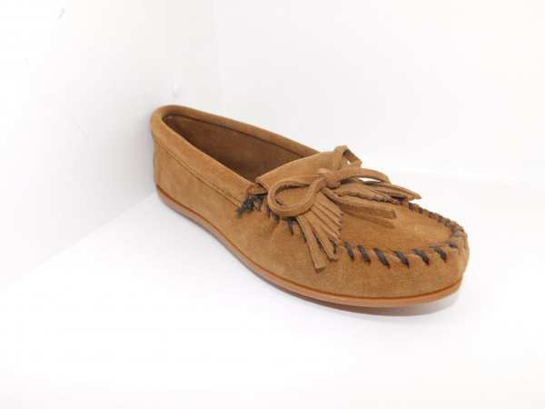 womens mocs kilty dusty brown 403