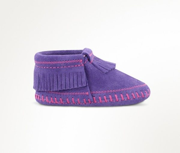 infants boots riley purple 1164