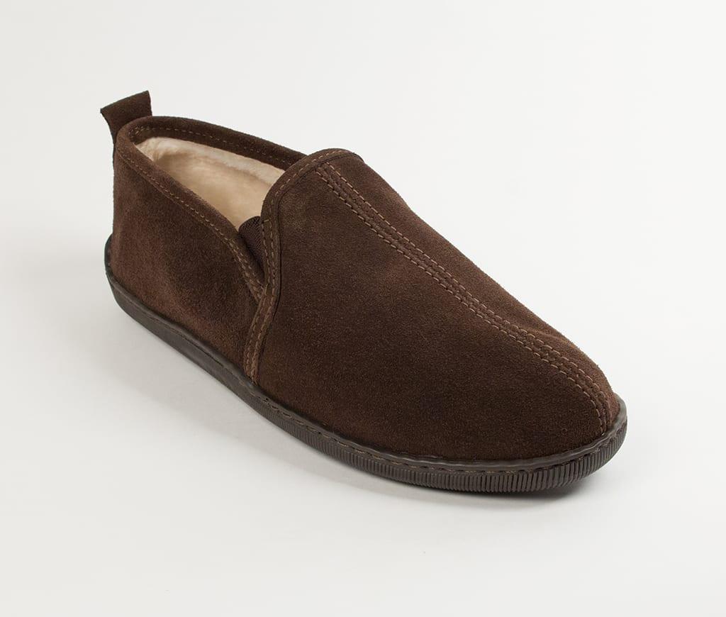 mens slippers romeo chocolate 3928