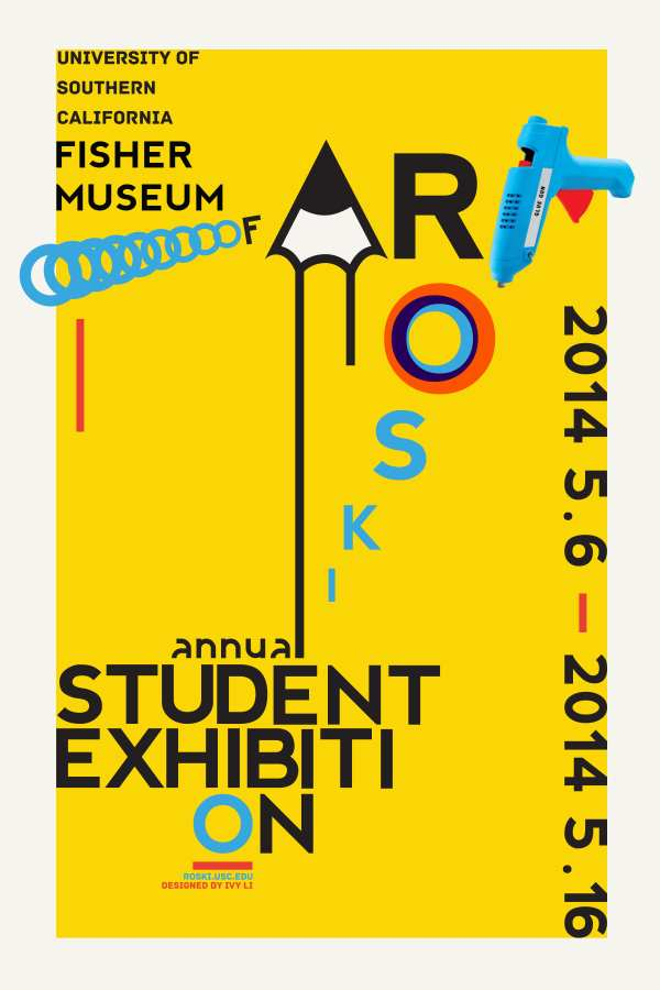 Usc Roski School Of Art And Design Annual Student Exhibition Fisher Museum