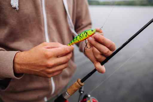 How to keep fishing line tight