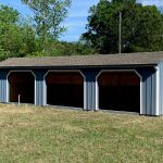 Run In Horse Shed Budget Friendly Horse Shed Fisher Barns
