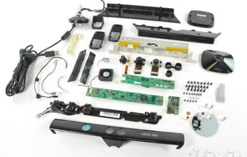 Partes del Kinect de la Xbox 360