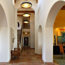 Arch Hallway Interiors