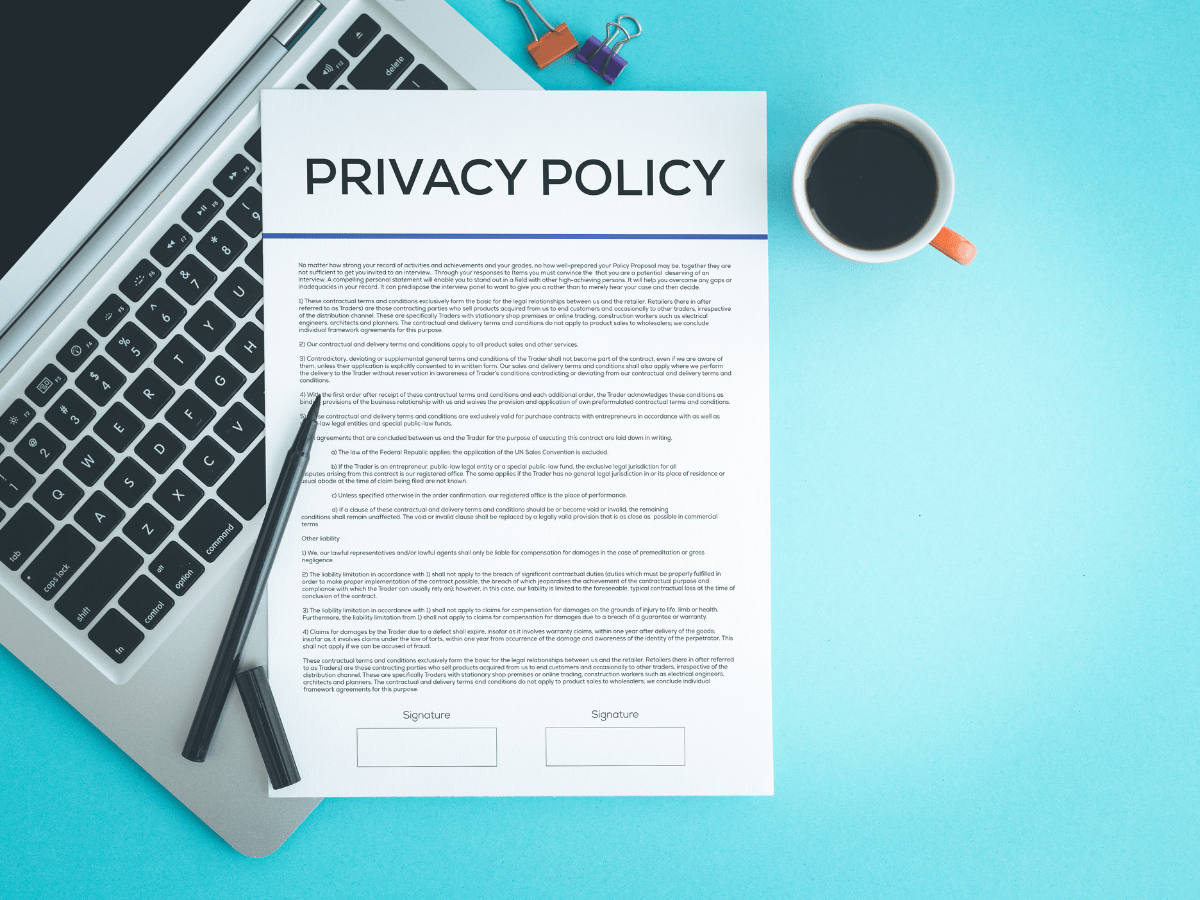 Importance of a Privacy Policy
