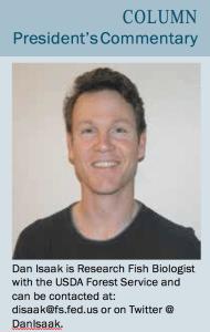 dan isaak american fisheries society member