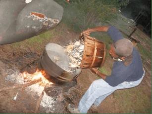 Gullah/Geechee crab boil.