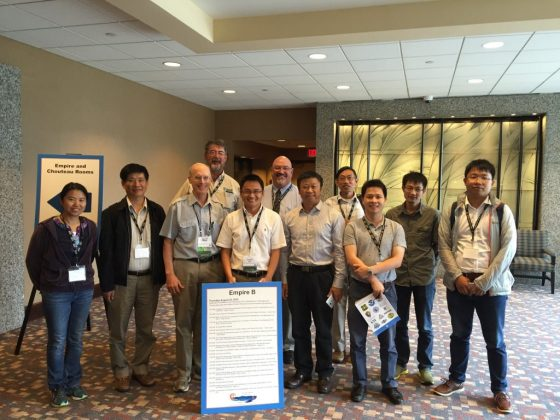 The Third Mississippi-Yangtze River Basins Symposium at Kansas City. Photo credit: Yushun Chen