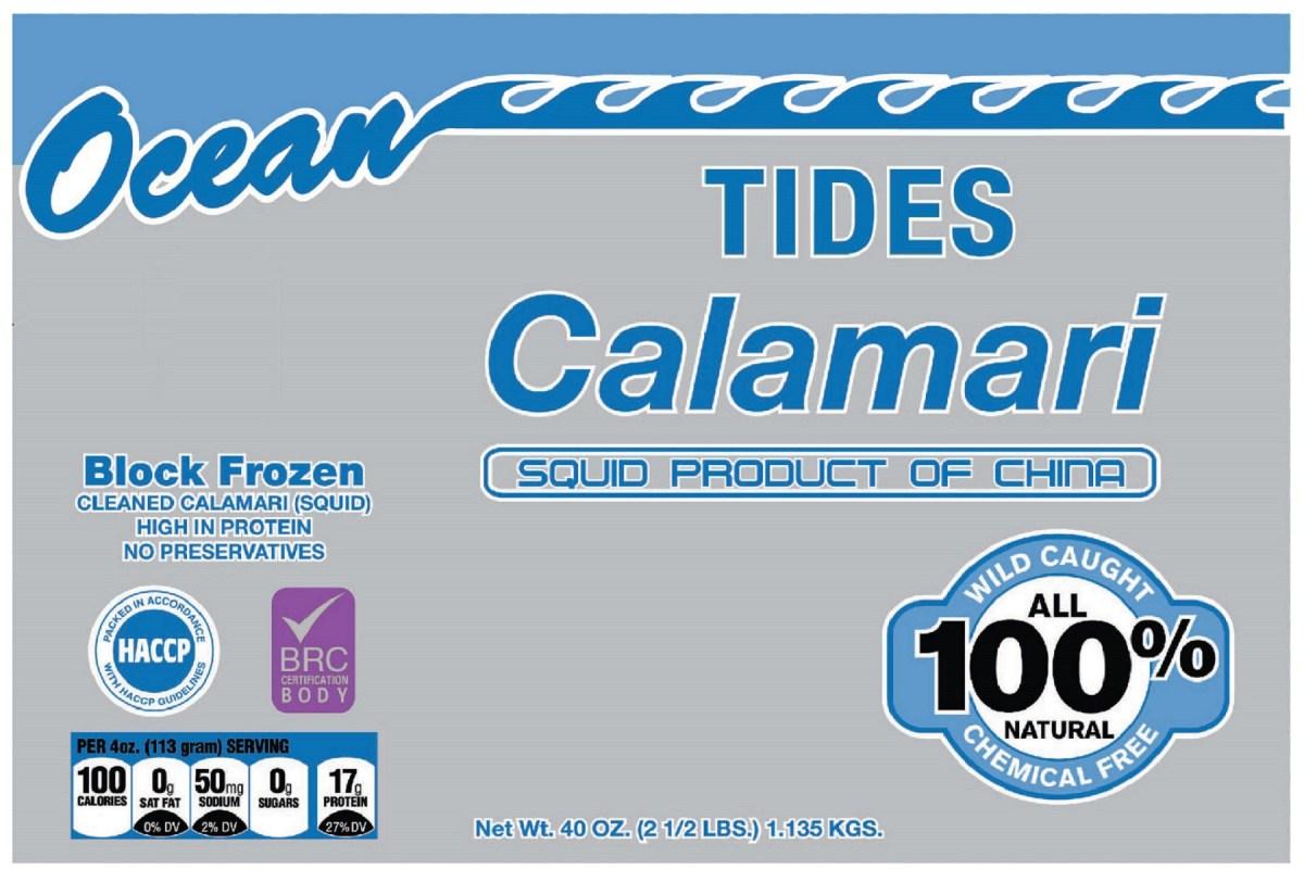 Ocean Tides Bag Front