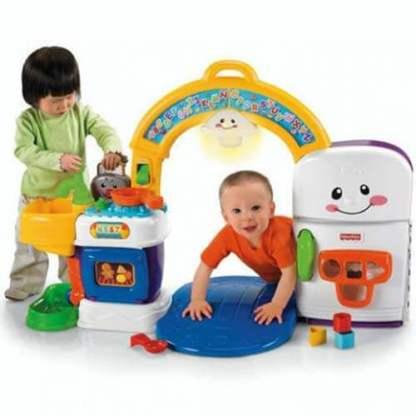 «Смейся и учись» Музыкальная интерактивная игрушка «Кухня» Fisher-Price напрокат в Минске