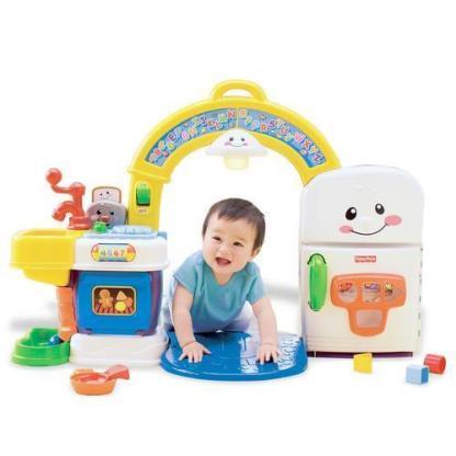 «Смейся и учись» Музыкальная интерактивная игрушка «Кухня» Fisher-Price напрокат