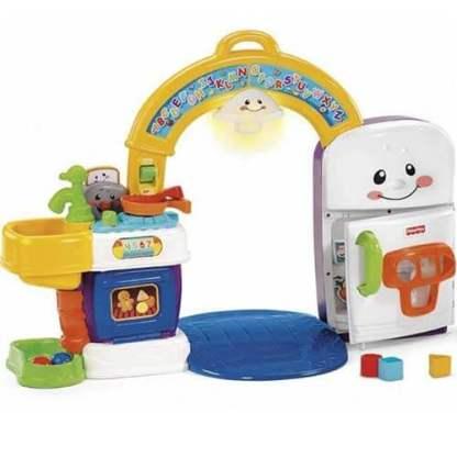 «Смейся и учись» Музыкальная интерактивная игрушка «Кухня» Fisher-Price в прокат
