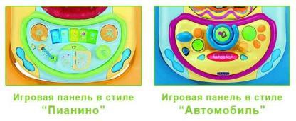 Ходунки Chicco Band Baby Walker с музыкальной игровой панелью на прокат в Минске