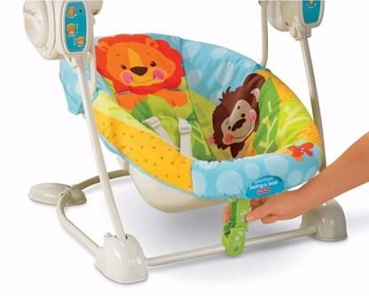 Кресло-качели детские Чудесная планета Fisher-Price на прокат