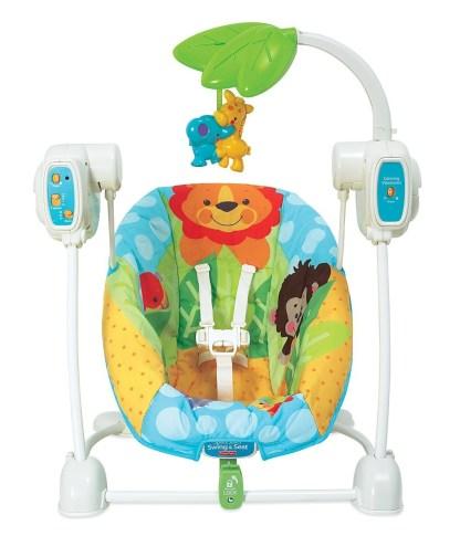 Кресло-качели детские Чудесная планета Fisher-Price напрокат