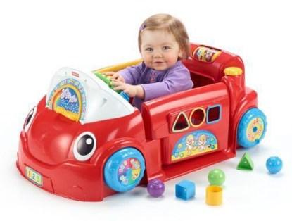 Обучающая игрушка Автомобиль из серии Смейся и учись Fisher-Price напрокат