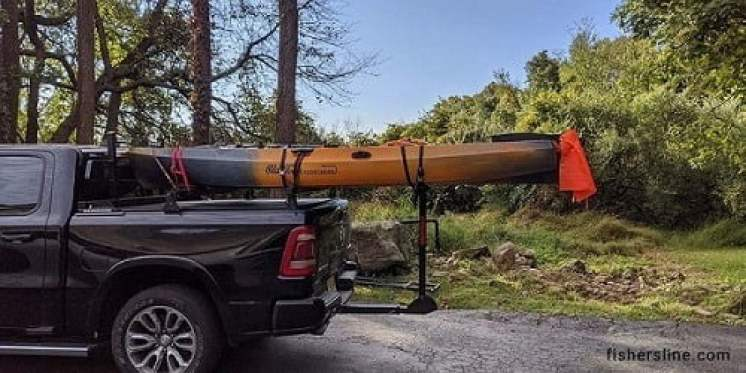 Red-Flag-while-traveling-with-kayak