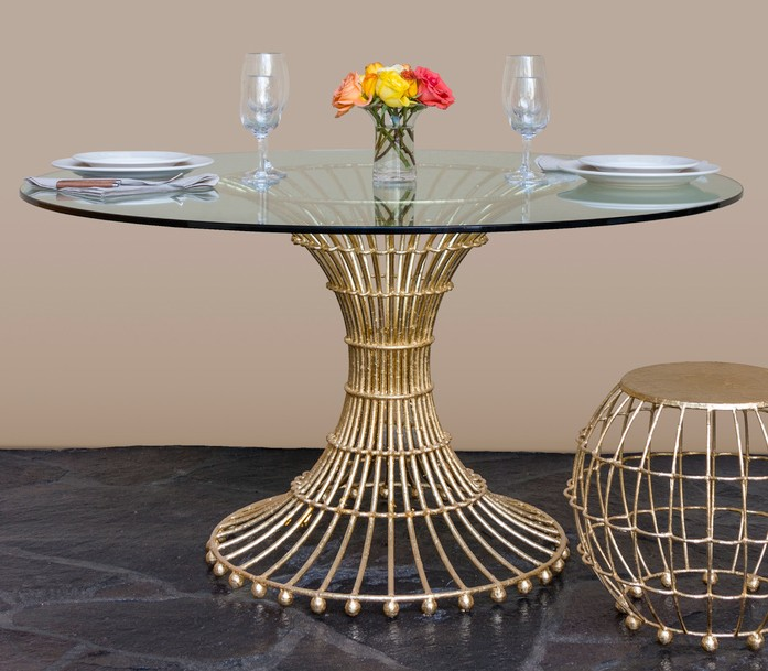 Gilded Cage Dining Table Fisher Weisman