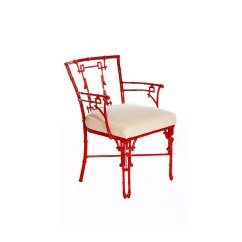 Bamboo Dining Chairs Gold Coast Chair Hide A Bed Fisher Weisman