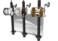 Wall Mount Offshore Rod Rack  3 Rod Holder | Fish Fighter ...