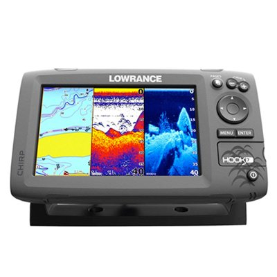 lowrance hook 7 fish finder
