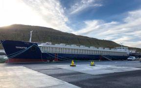 Large Feeding Barge for Bakkafrost