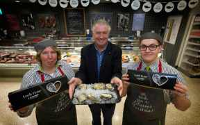 LOCH FYNE SUPPLIES WAITROSE FRESH SHELLFISH