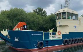 NEW SCOTTISH AQUACULTURE VESSEL