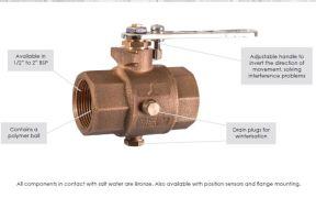 maestrini-bronze-ball-valve