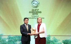 THAI UNION SECURES SUSTAINABILITY AWARD