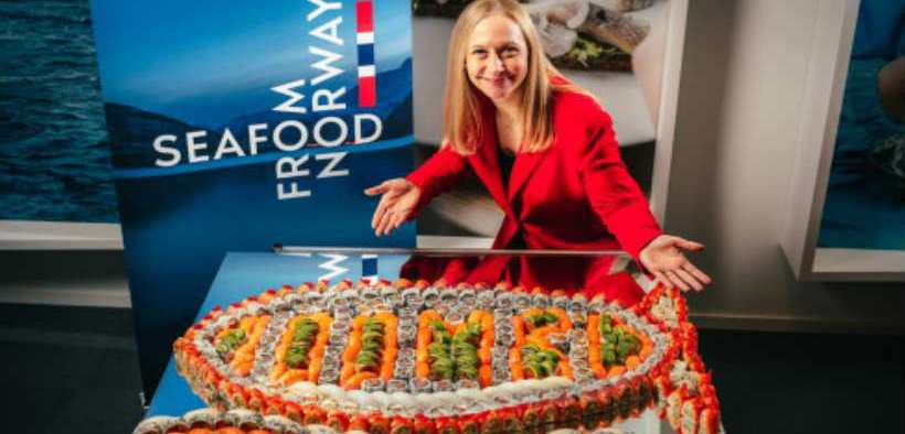 NORWEGIAN SEAFOOD EXPORTS TO EXCEED