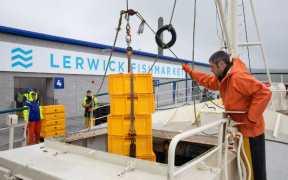 LERWICK'S NEW FISHMARKET OPENS