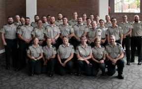 NEW CANADIAN FISHERY OFFICERS