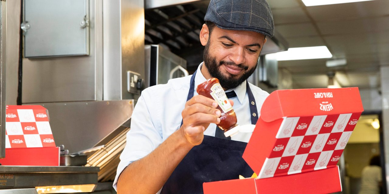 """Heinz """"CLICK & CHIPS"""" apps are working hard to help British fish & chip shops"""