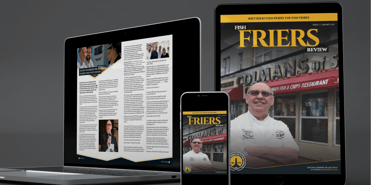 Out now! The January digital edition of the Fish Friers Review