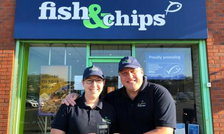 Kingfisher FIsh and Chips named Fish & Chip Shop of the Year at the Fishermen's Mission 2021 AGM & Awards