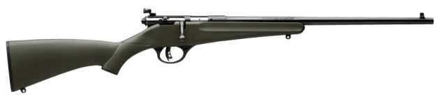 """Savage Arms Rascal The best youth sized .22LR out there, forget the """"Cricket"""". The Rascal comes is every color imaginable, peep sights, and the legendary Savage Accutrigger. http://www.savagearms.com/firearms/model/rascal"""