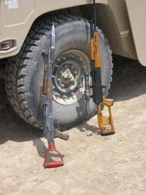 Shovel AK and Real AK