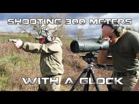 300, 400, and 500 Yard Pistol Shots [VIDEOS]
