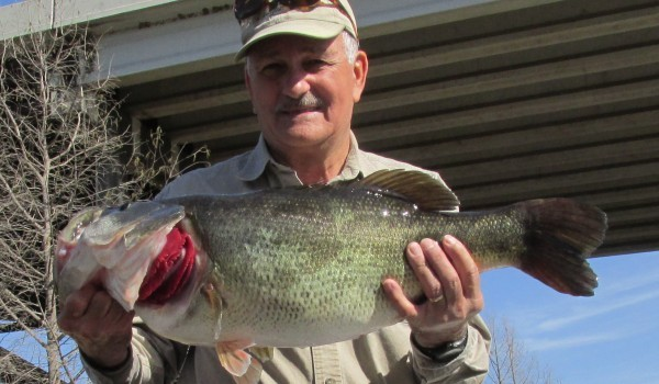 Lake Austin produces another lunker Texas bass