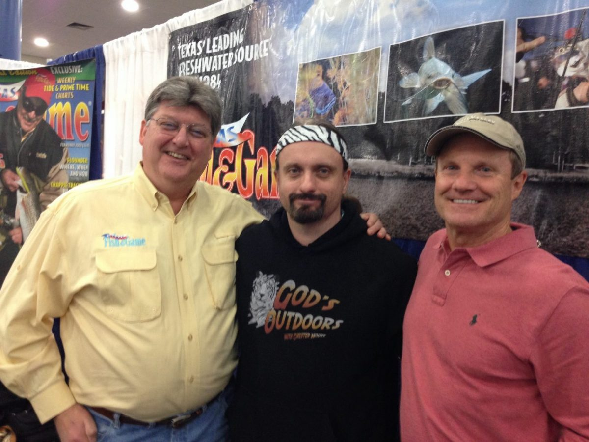 TF&G at the Houston Fishing Show