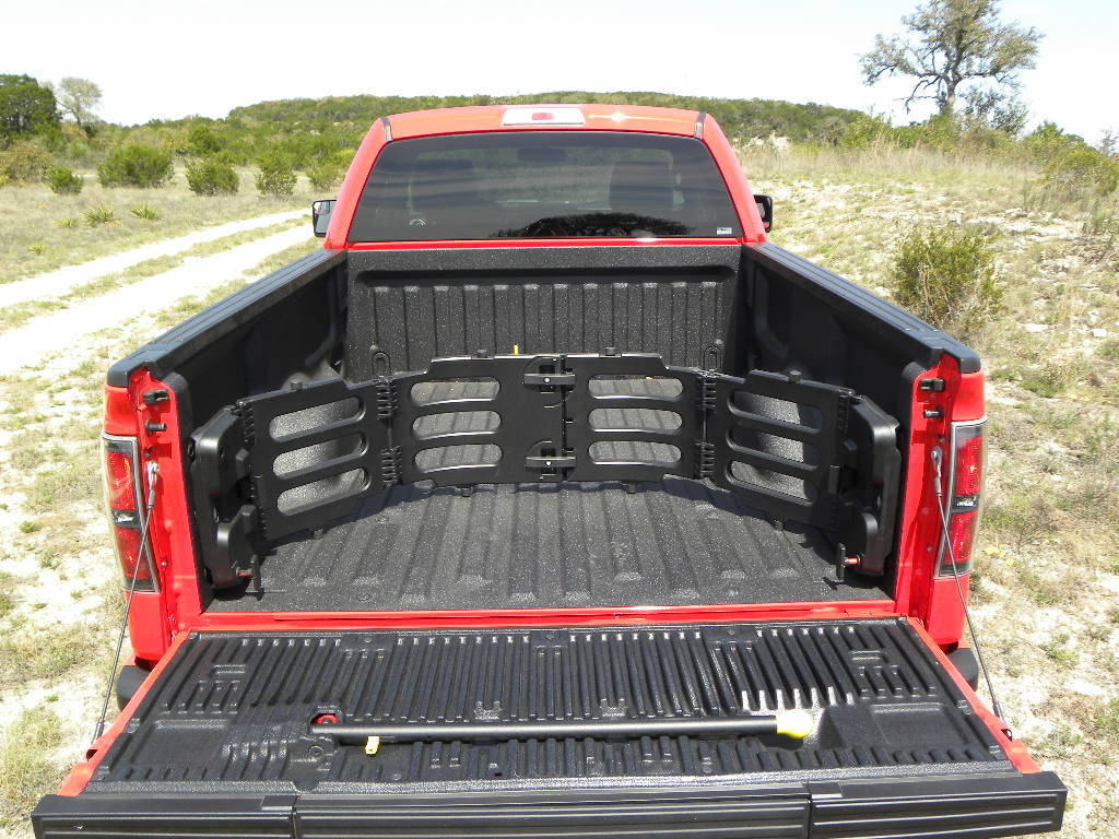 Bed view of Ford F-150 Tremor