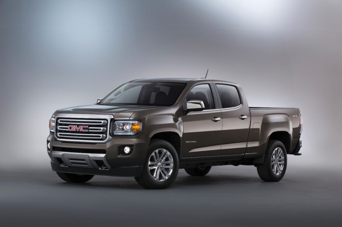 GMC Canyon extended-cab feature for child seats
